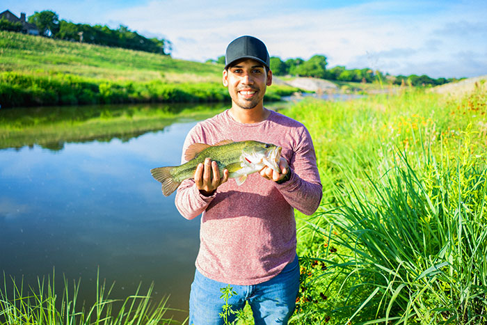 Celebrate fishing on the Trinity