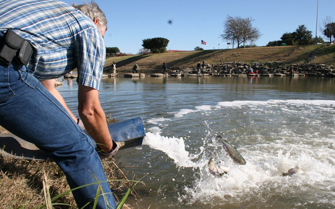 Trout Stocking coming soon to Fort Worth