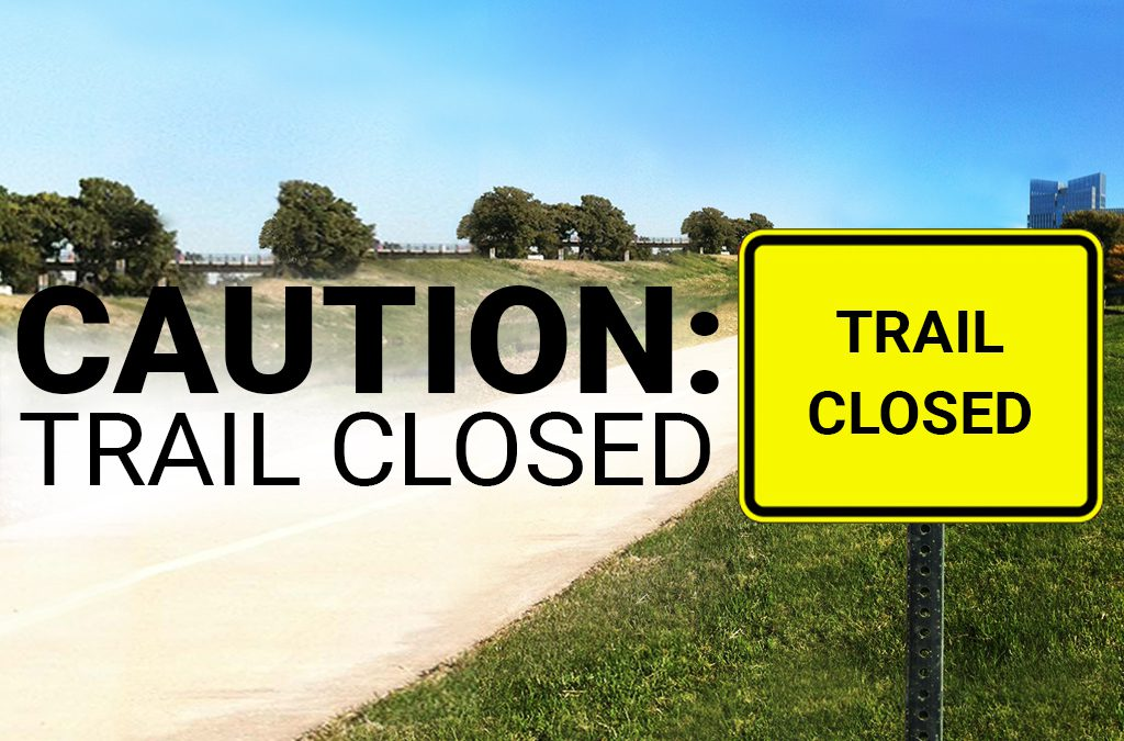 Trail Closure at West Fork and Marine Creek Bridge