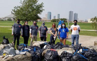TRWD Trash Bash Keeps Trash Out of Our Waterways