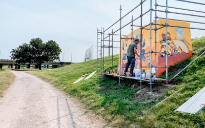 Painting the River: A Trinity Trails Mural Gallery